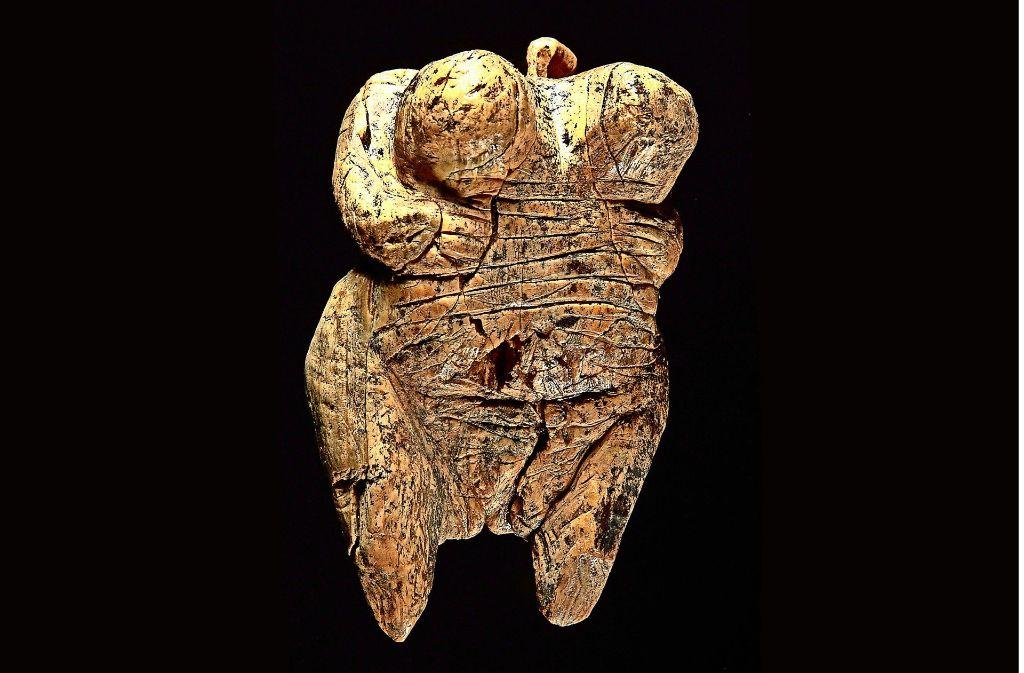 """Älteste bekannte Menschenfigur der Welt:  die """"Venus vom Hohlen Fels Foto: dapd"""