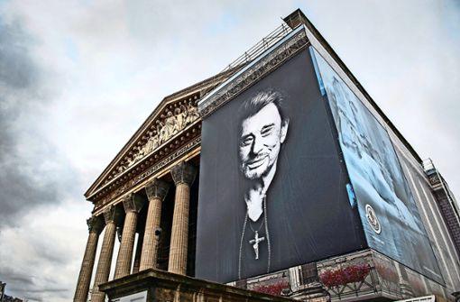 Die Franzosen lesen eine Messe für Johnny