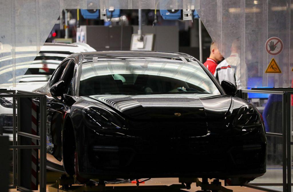 Porsche ruft Fahrzeuge zurück (Symbolbild). Foto: dpa-Zentralbild