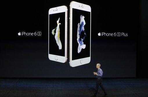 Apple erreicht knapp neuen Rekord