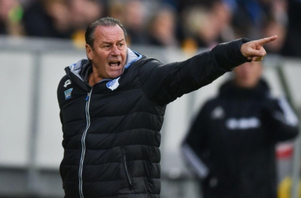 Hoffenheims Trainer Huub Stevens hat sich Unterstützung geholt. Foto: dpa