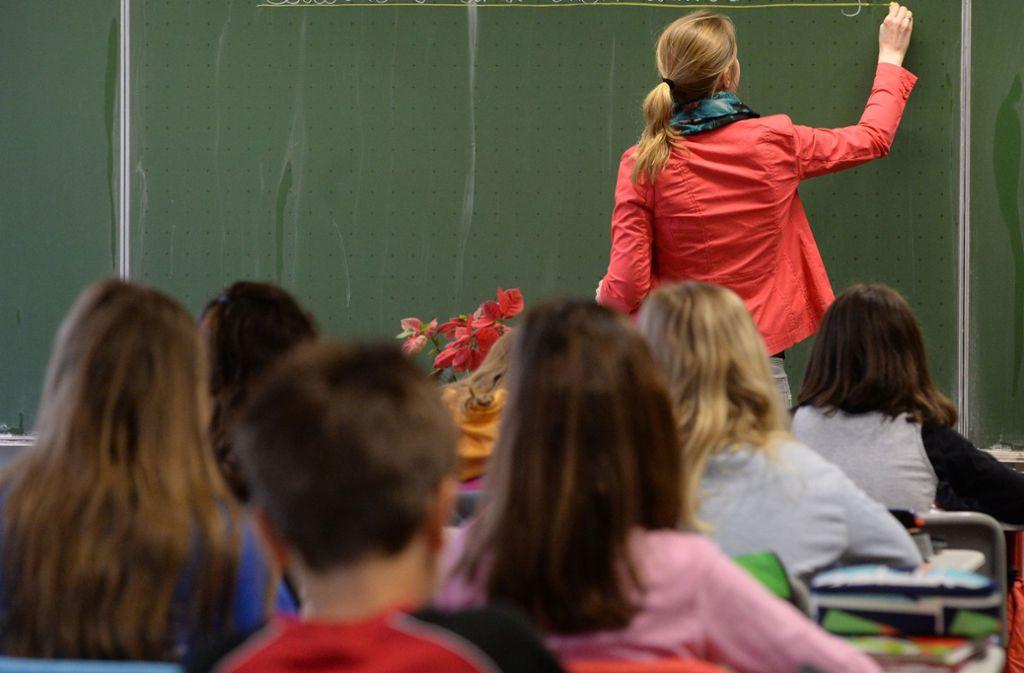 Nicht in jeder Klasse läuft der Unterricht so gesittet ab. Foto: dpa