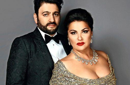 Yusif Eyvazov und Anna Netrebko werden im September vor der großartigen Kulisse des Neuen Schlosses auftreten.