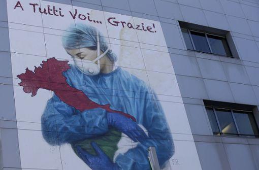 Italien schöpft vorsichtige Hoffnung