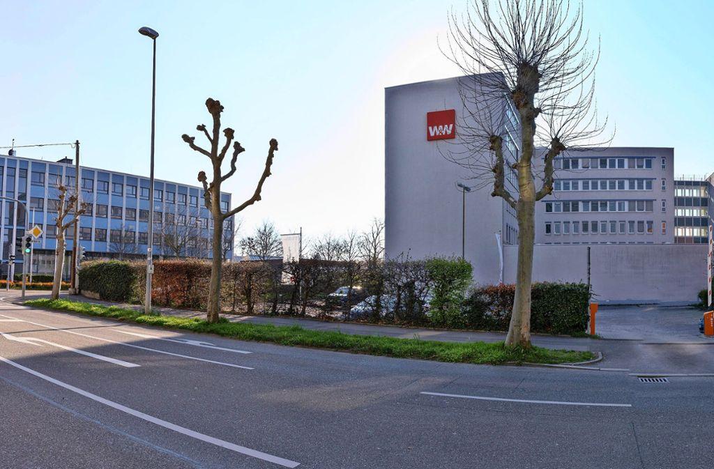Blick auf das Wüstenrot-Areal in der Ludwigsburger Südstadt. Foto: factum/Andreas Weise
