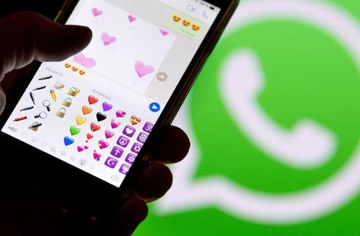 WhatsApp führt Foto-Sticker ein