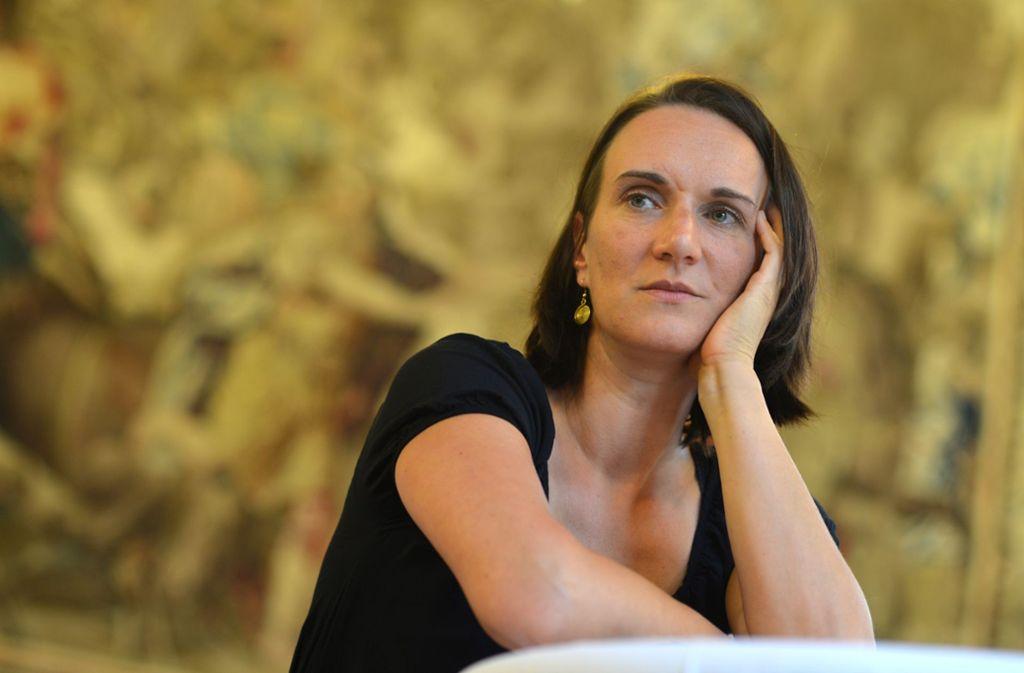 Am Nerv der Zeit: Die Büchner-Preisträgerin Terezia Mora Foto: dpa