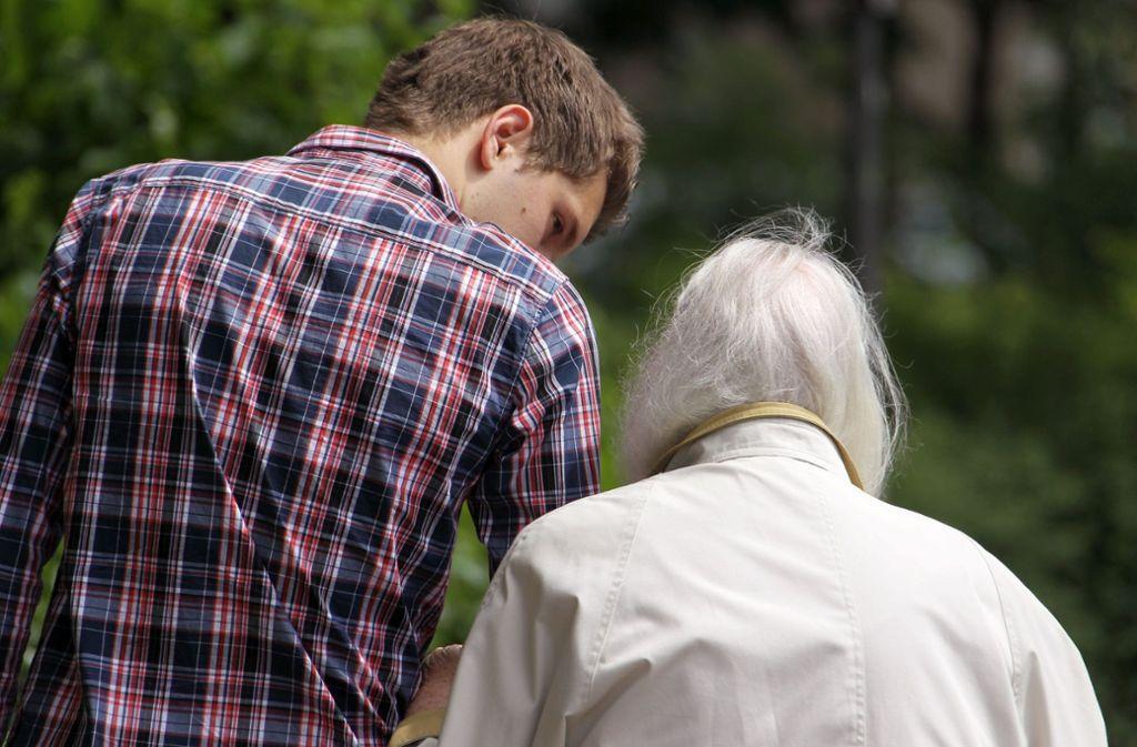 Der Bundesfreiwilligendienst kann von jungen Menschen künftig auch in Teilzeit gemacht werden (Symbolbild). Foto: dpa