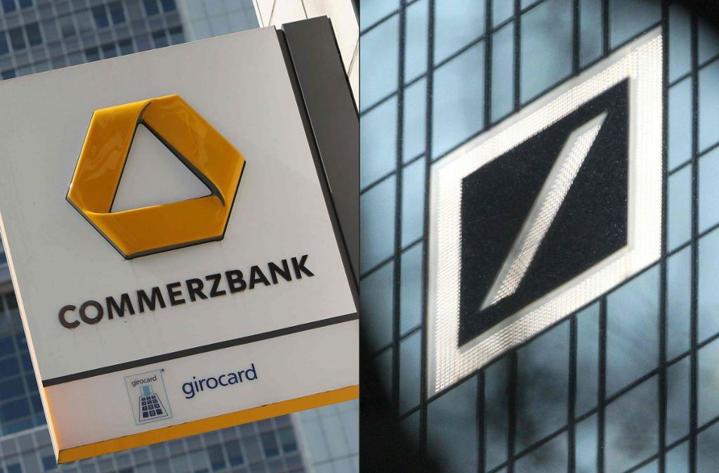 """Kommt die """"Deutschlandbank AG""""? Foto: AFP"""