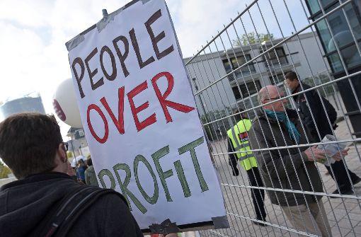 Demonstrationen gegen Monsanto-Übernahme