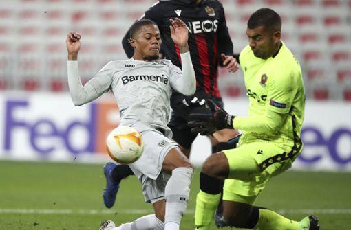 Leverkusen zieht mit Sieg in Nizza in die nächste Runde ein