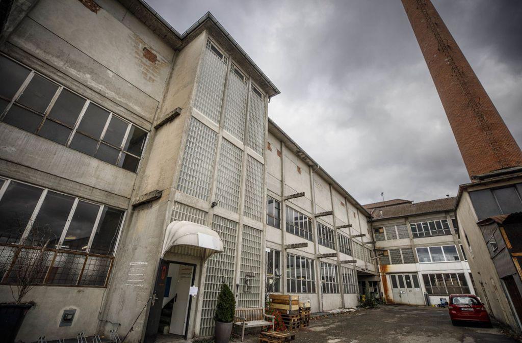 Auf dem Pfleiderer-Areal in Schorndorf entsteht ein neues Wohnquartier. Zu den Abrissarbeiten gehört auch die Sprengung des 40 Meter hohen Ziegelkamins. Foto: