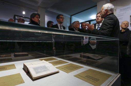 Eine  Ausstellung dokumentiert die Welzheimer  NS-Vergangenheit. Foto: Frank Eppler