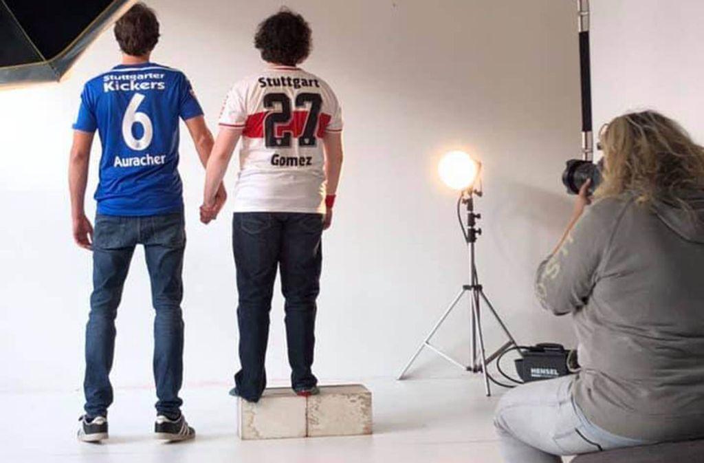 Kickers und VfB Hand in Hand? Für viele Stuttgarter Fußballfans undenkbar. Foto: VVS