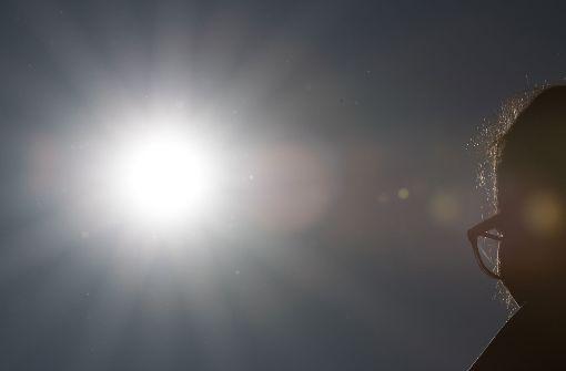 Von Sonne geblendet und auf Autos gekracht
