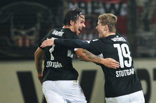 Der neue VfB - mit Glück und Können