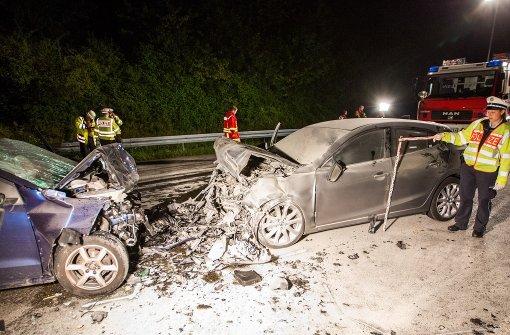 Geisterfahrer stirbt am Schönbuchtunnel