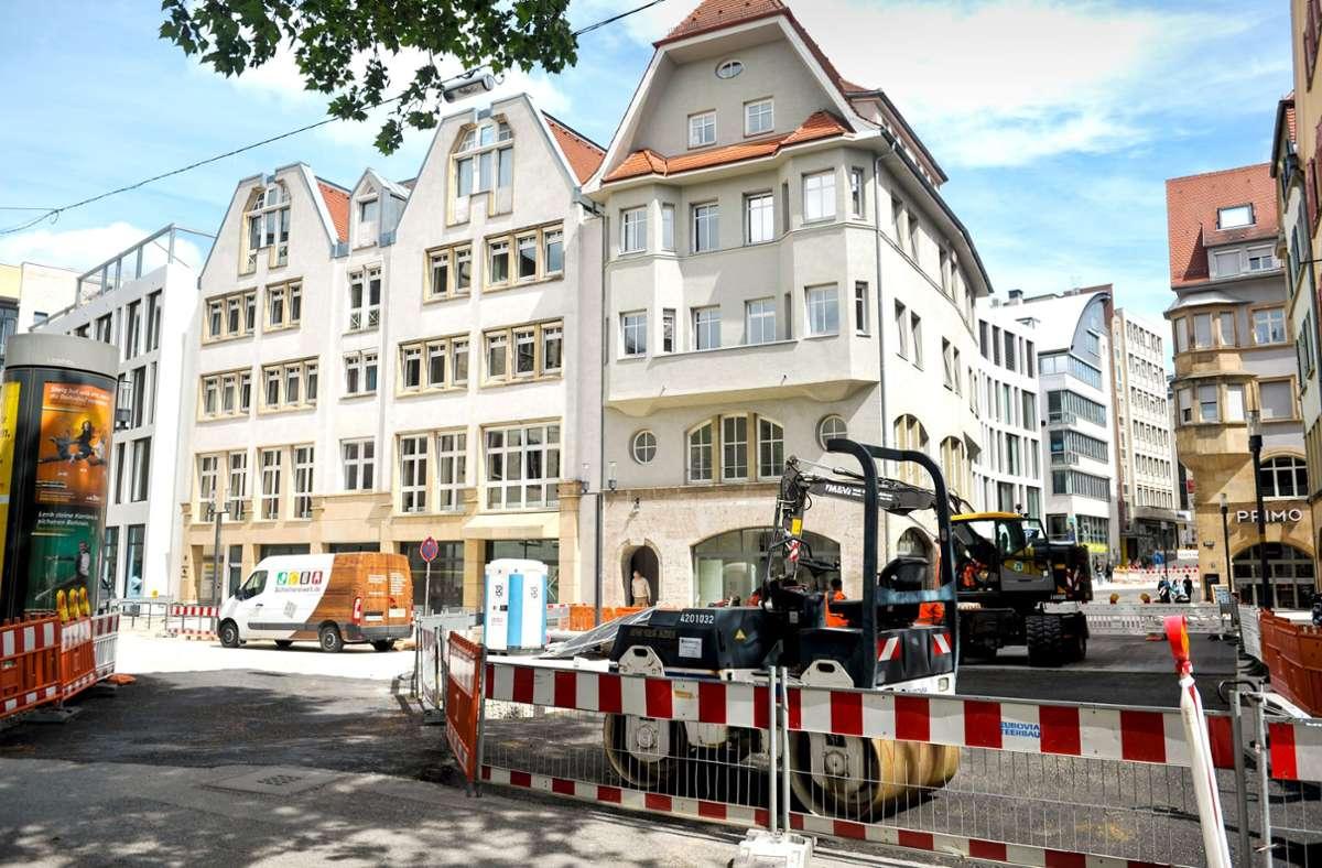 In die Eichstraße 9 und 19 kommen Ausstellungsräume Foto: Lichtgut/Max Kovalenko