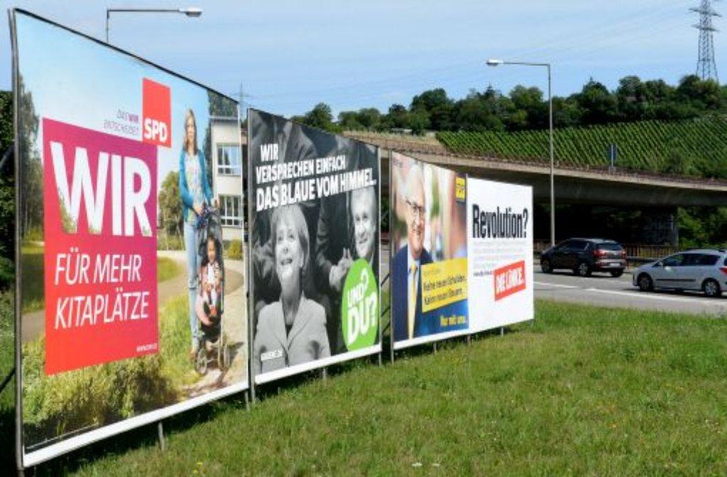 Nun also doch: Im Kampf um die zwei Direktmandate in Stuttgart unterstützen sich SPD und Grüne gegenseitig. Im Süden wird die Wahl von Özdemir empfohlen, im Norden soll man sein Kreuzchen bei Schäfstoß machen.  Foto: dpa