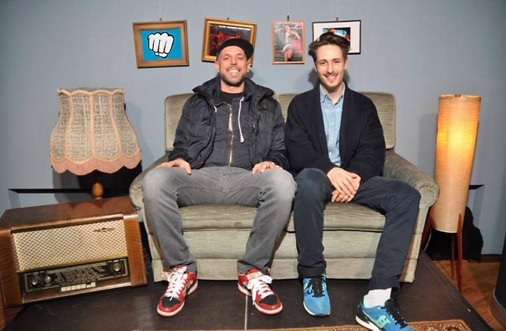 Sie wollen auffahren mit einem Sound-Spektrum, das breiter nicht sein könnte: Das Brudingo Soundsystem, bestehend aus DJ Emilio (links) und DJ Ringo. Foto: Brudingo Soundsystem
