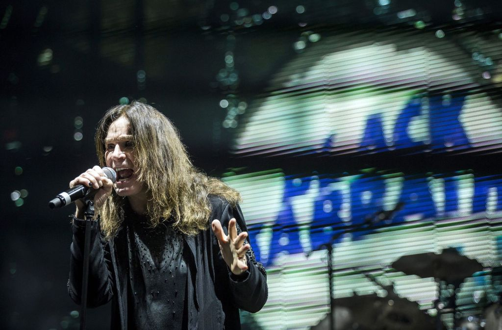 Black Sabbath haben am Samstagabend in Birmingham ihr letztes Konzert gegeben. (Archivbild) Foto: MTI