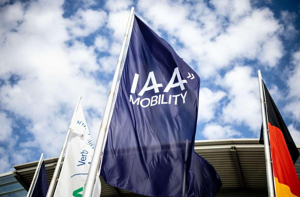 Die IAA findet in diesem Jahr das erste Mal in München statt. Foto: dpa/Matthias Balk
