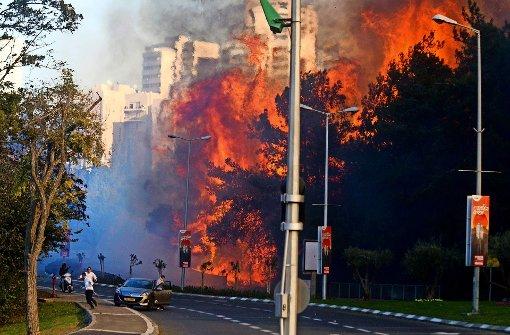 Israel in Flammen