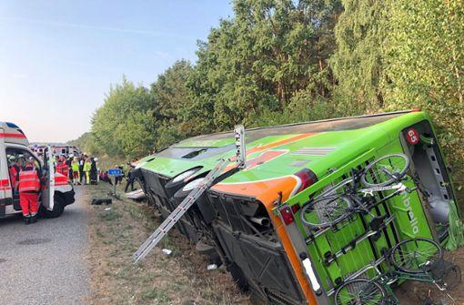 Flixbus nach Berlin verunglückt - viele Verletzte