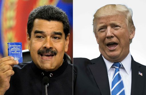 Trump droht Venezuela