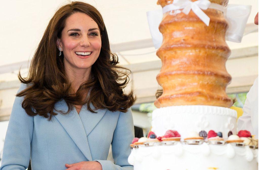 Süßes für die Herzogin: Dass Kate hier zuschlägt, dürfte unwahrscheinlich sein. Foto: Getty Images Europe
