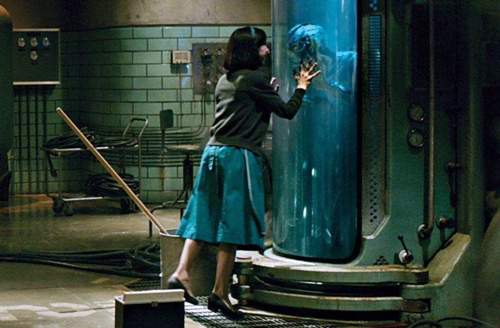 """Doug Jones und Sally Hawkins in """"Shape of Water"""" Foto: Verleih"""
