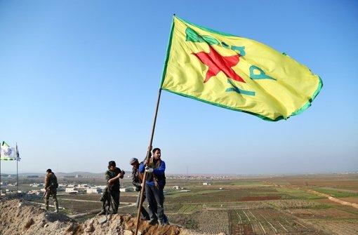 Kurden finden Gewehr super