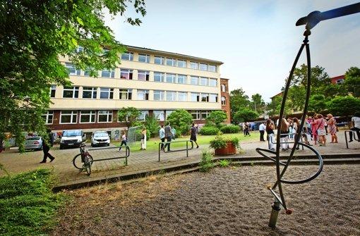 Eine Schule verschwindet