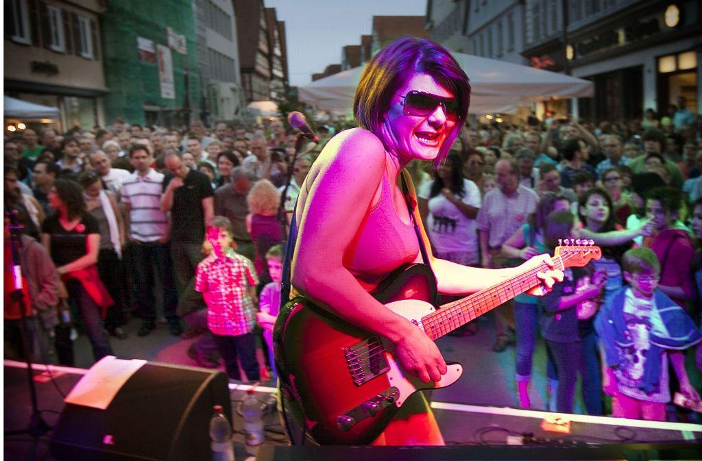 Die Band Miss Foxy ist auch bei der kommenden Musiknacht wieder am Start. Wo, sehen Sie in unserer Karte. Foto: Horst Rudel