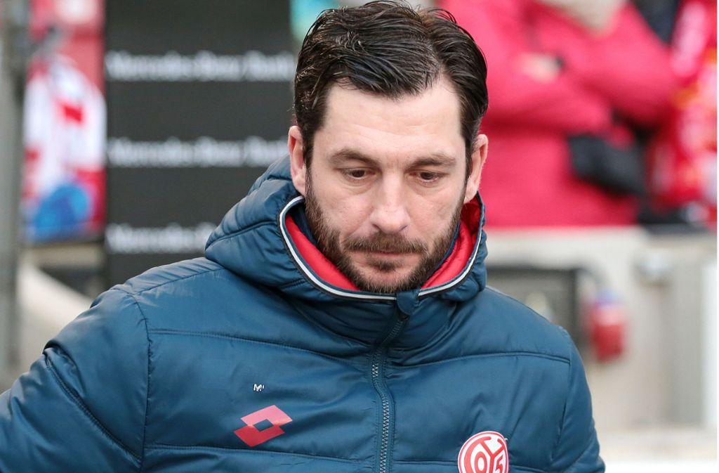 Sandro Schwarz ist nun nicht mehr der Trainer von Mainz 05. Foto: Pressefoto Baumann/Alexander Keppler