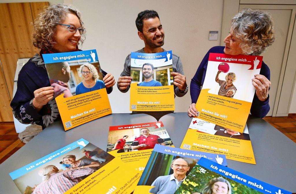 Für Ältere, für Flüchtlinge: Catherine Leiblein, Foto: factum/Granville