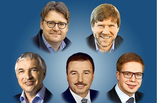 Alte und neue Posten im Landtag