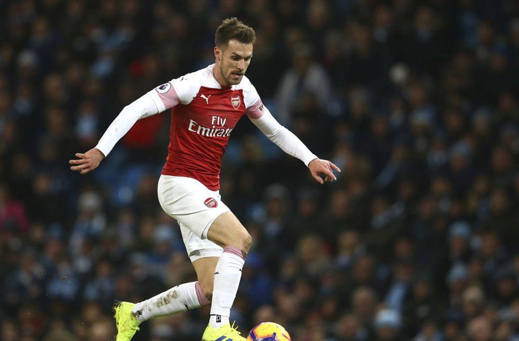 Aaron Ramsey hat einen Vertrag bei Juventus Turin unterschrieben. Foto: AP
