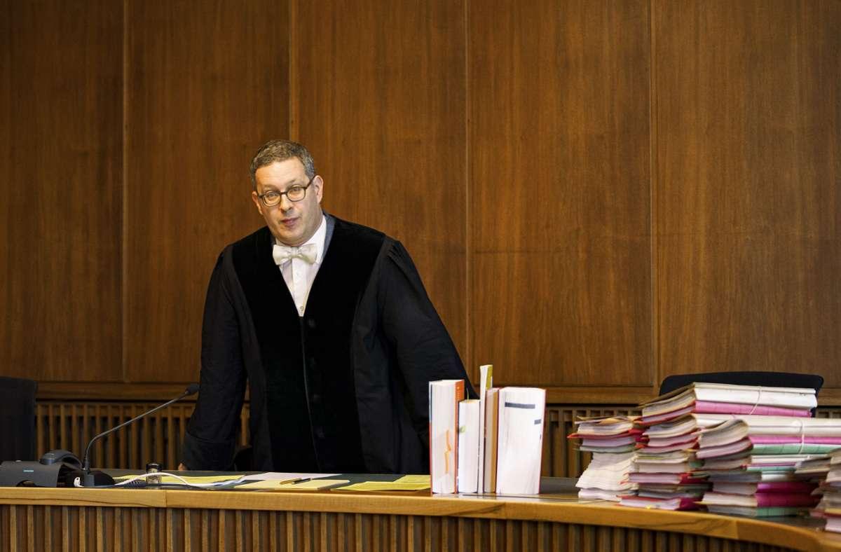 Wehrt sich gegen Vorwürfe: der Richter Fabian Richter Reuschle Foto: Patrick Junker/laif
