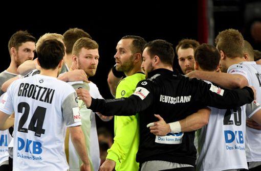 Deutsche Handballer verpatzen Gruppenfinale