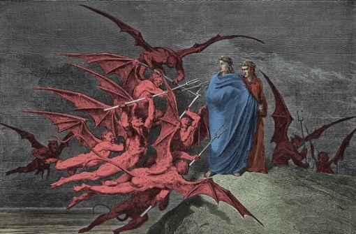 Teufel blasen den Marsch