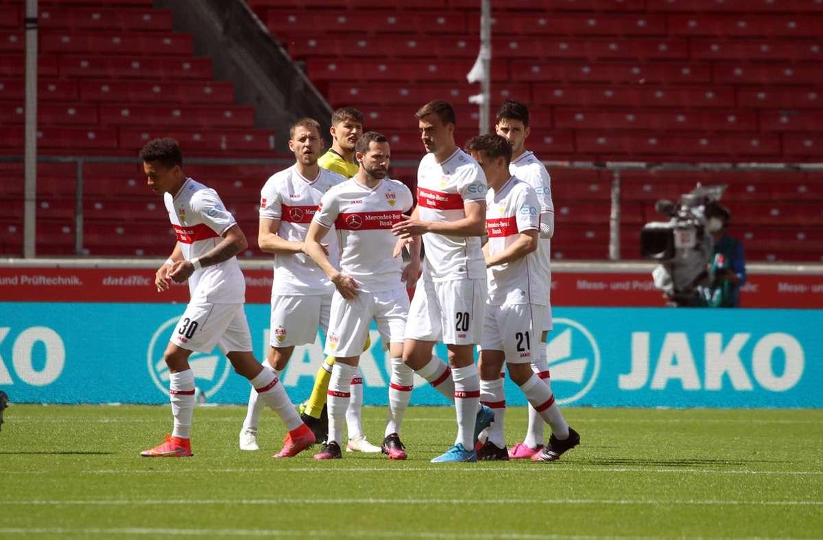 Die VfB-Profis können auf eine erfolgreiche Saison zurückblicken. Foto: imago images/Sportfoto Rudel/Pressefoto Rudel/Herbert Rudel via www.imago-images.de