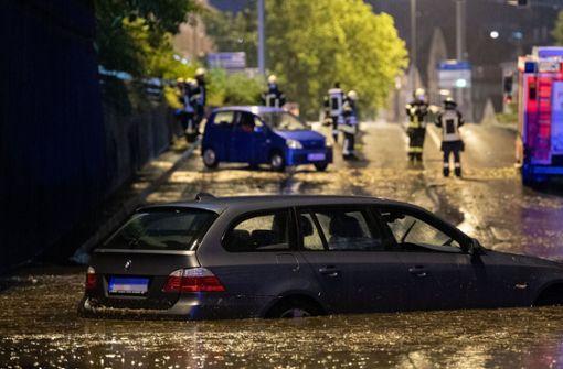 Wetterdienst prognostiziert Starkregen und Hagel