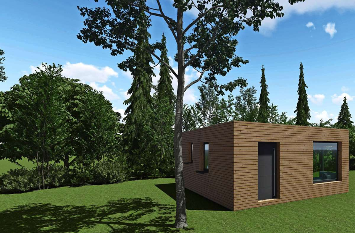Tiny Häuser benötigen nur eine kleine Grundfläche. Foto: privat