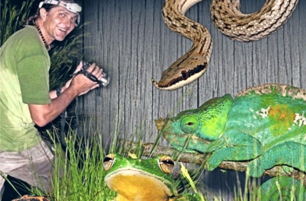 Axel Kwet ist Experte für Reptilien und Amphibien. Foto: privat