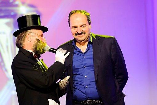 Fernsehkoch Johann Lafer trägt den Bart des Jahres