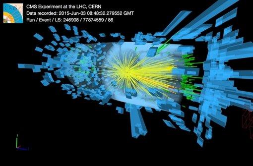 Der LHC lässt es richtig krachen
