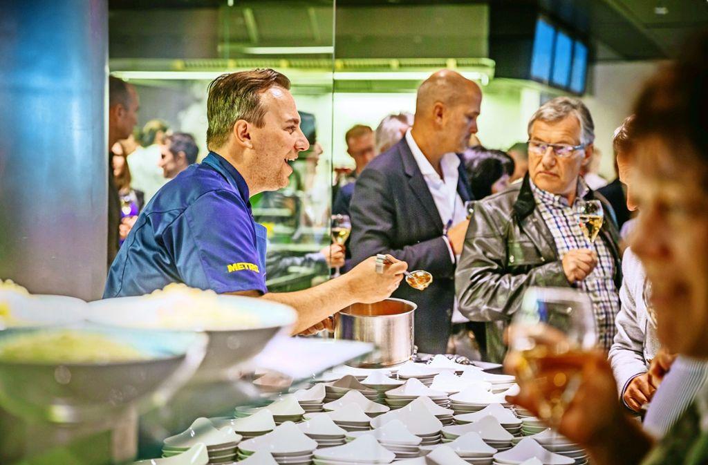 Küchenparty Stuttgart ~ küchenparty bei breuninger wenn der spitzenkoch am pass flirtet stuttgart stuttgarter zeitung
