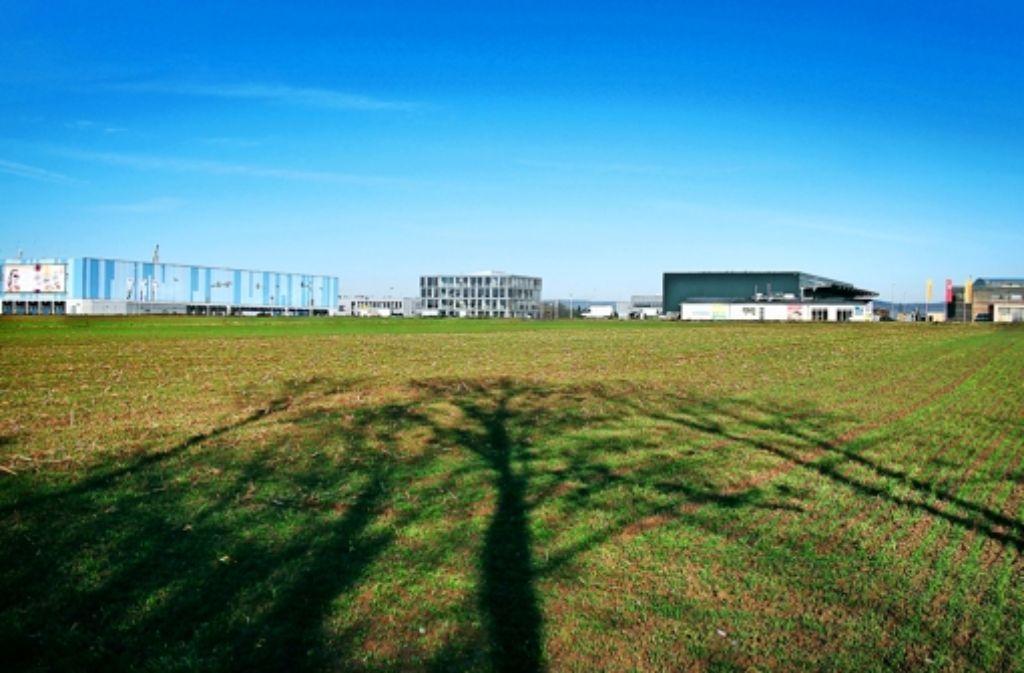 Hier ist noch Platz, finden die Betreiber des Gewerbeparks Eichwald. Foto: factum/Granville