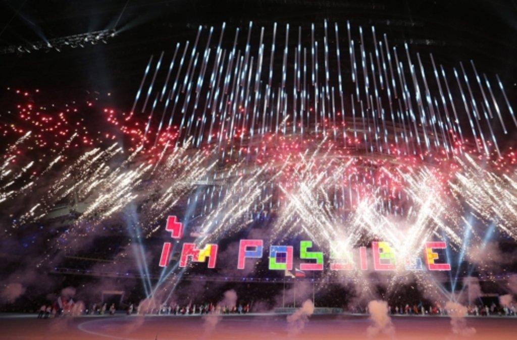 Mit einer Schlussfeier sind die 11. Winter-Paralympics beendet worden. Foto: dpa